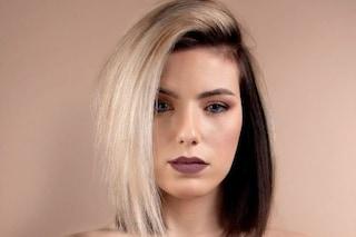 Tendenza skunk hair: tornano di moda i capelli bicolor anni '90