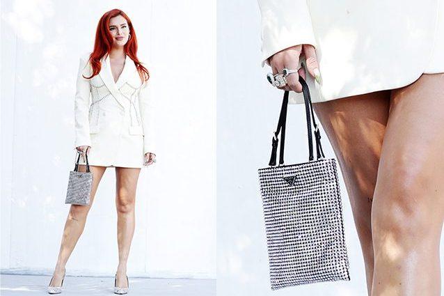Bella Thorne brilla al Roma Film Fest con la borsa dell'inverno 2021 (che è scintillante)