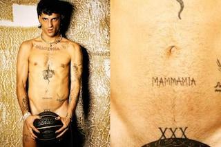 Il nuovo tatuaggio di Damiano dei Maneskin: lo ha fatto da solo e rende omaggio alla canzone della band