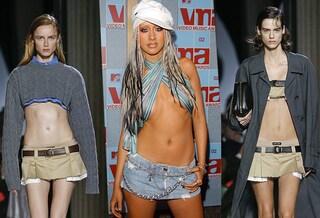 Il ritorno delle gonne-cintura di Christina Aguilera: perché la moda ha nostalgia dell'epoca di MTV