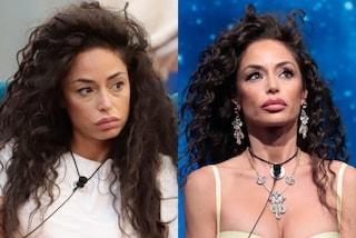 Raffaella Fico prima e dopo il trucco al GF Vip 6: la trasformazione della showgirl con il make-up
