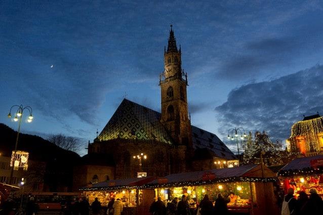 Bolzano e il mercatino di Natale. Foto di djandrea.
