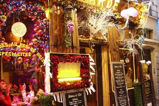 Natale parigino, foto di Federica Zanella.