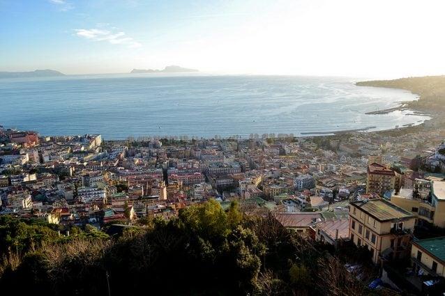 Napoli dal Castel Sant'Elmo. Foto di Simonetta Di Zanutto