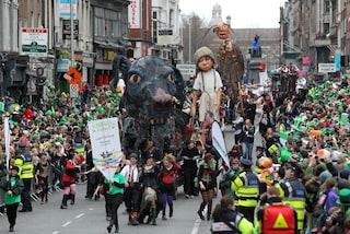 La parata della Festa di San Patrizio 2012 e il programma del 17 marzo