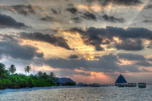 Le Maldive a novembre.