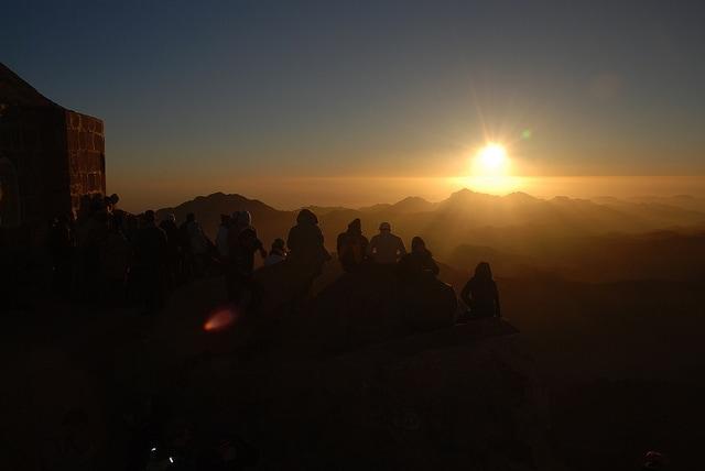 Alba sul Monte Sinai
