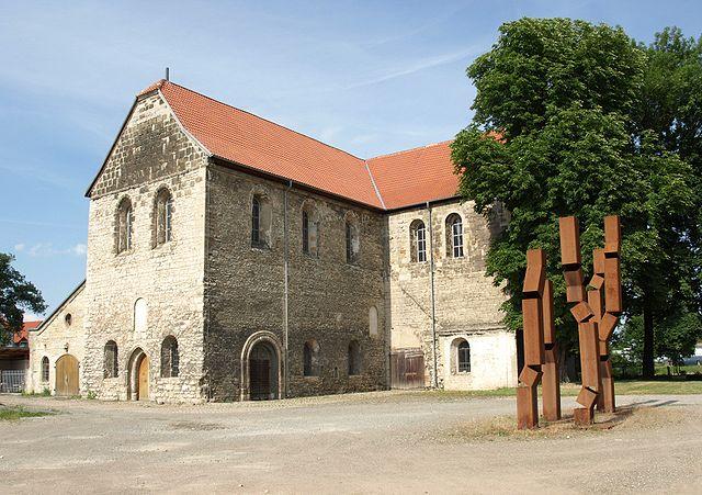 La chiesa di Sankt Burchurdi in Halberstadt, Germania. Foto da Wikimedia Common