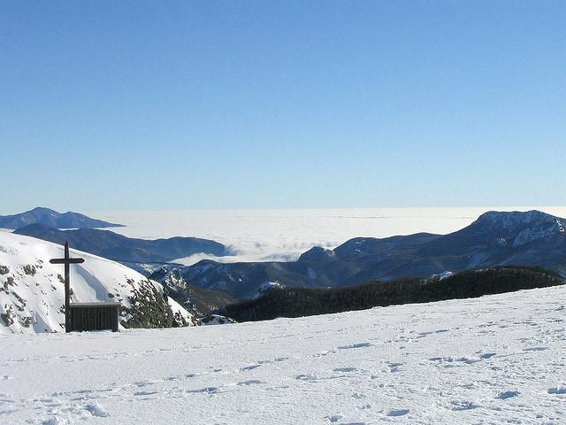 Sentieri sulla neve nella Val d'Aveto