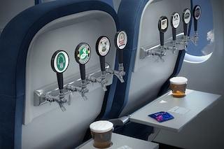 Birra artigianale in volo, la compagnia aerea che vi metterà a vostro agio