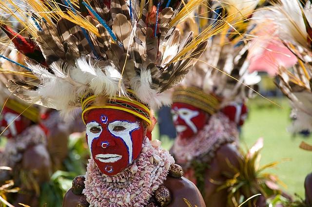 tribù di Papua Nuova Guinea