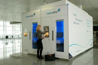 Il mini-hotel che ti permette di dormire in aeroporto (FOTO)
