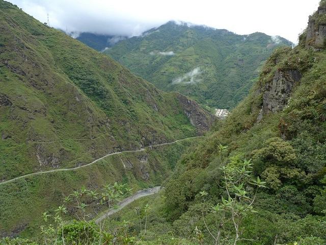 sentiero del Guayusa in Ecuador