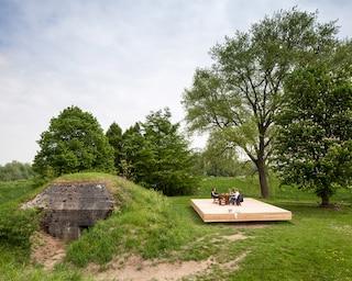 Bunker Pavilion, dormire sottoterra non è mai stato così confortevole (FOTO)