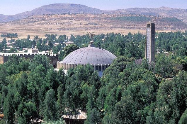 L'Arca dell'Alleanza nella Chiesa di Nostra Signora Maria di Zion ad Axum, Etiopia
