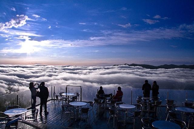 Unkai Terrace in Giappone