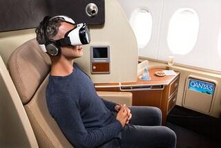 La realtà virtuale sale in aereo