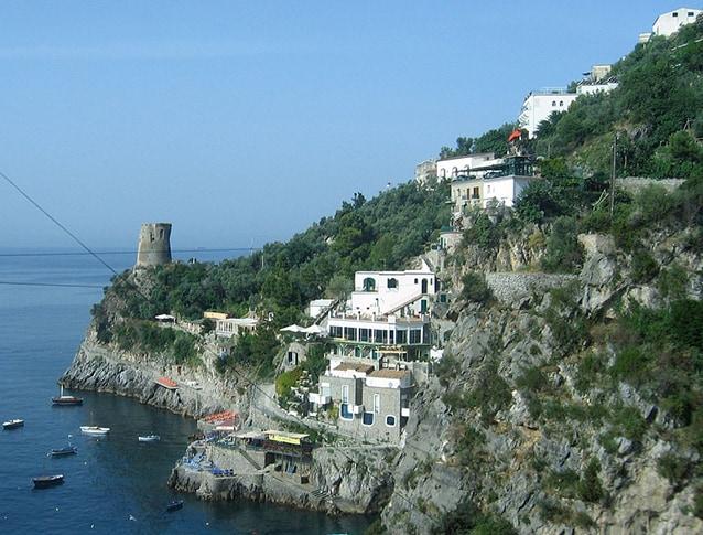 Praiano, Costiera amalfitana, Salerno.