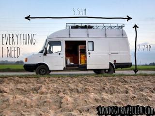 Come cambiare vita avendo solo un furgoncino