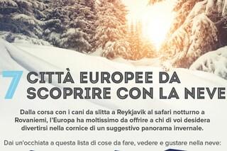 7 città europee da vedere con la neve