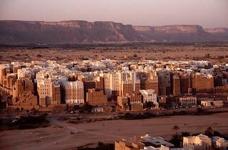 """Benvenuti a Shibam, la """"Manhattan del deserto"""""""