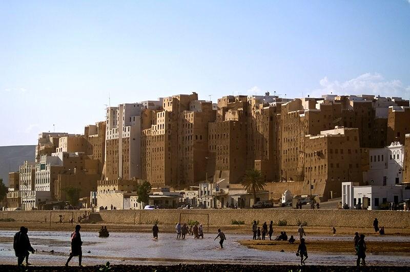 Shibam nel Wadi Hadhramaut