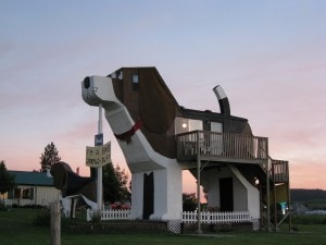 Dog Bark Park Inn.