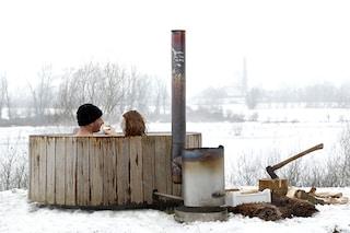 La vasca portatile per vacanze sempre al caldo (FOTO)