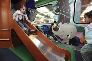 Ticki Park, la carrozza a misura di bambino: viaggiare in treno è un gioco