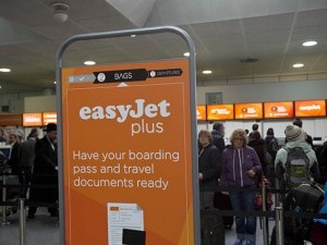 EasyJet a London Gatwick.