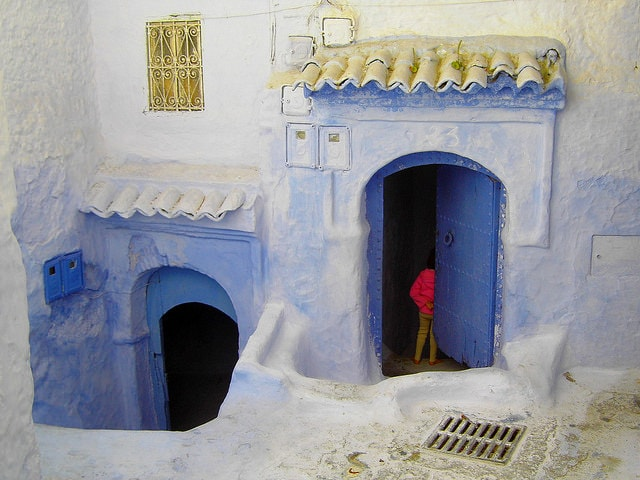 Chefchaouen, città blu del Marocco