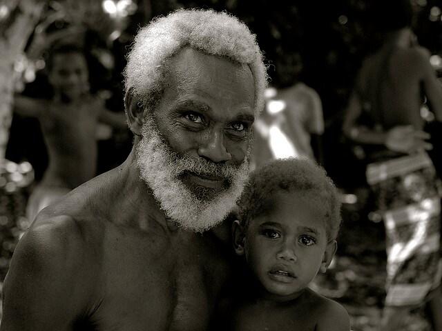 Tribu della Papa Nuova Guinea