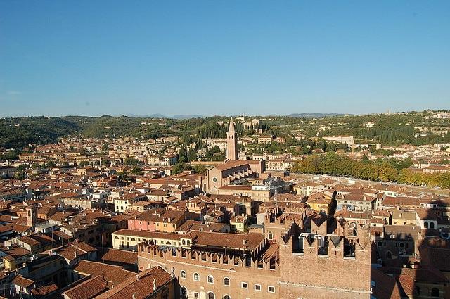 Verona, veduta dalla Torre dei Lamberti