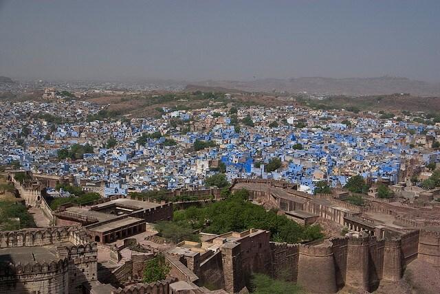 Jodhpur, città blu dell'India