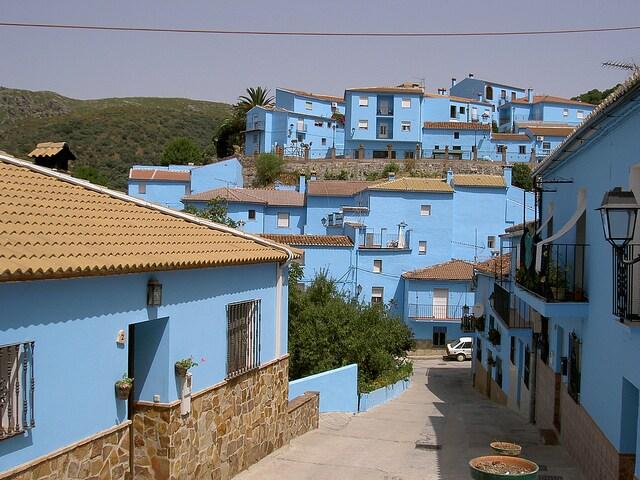 Juzcar, villaggio dei Puffi