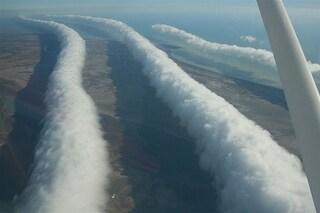Lo spettacolare fenomeno delle nuvole Morning Glory (FOTO)