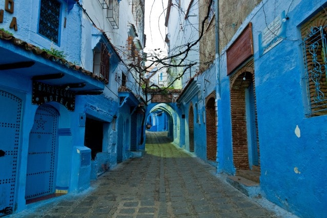 Case Blu Marocco : Le città più blu del pianeta