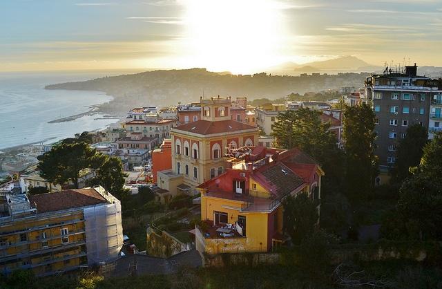 Napoli, veduta dalla Certosa di San Martino
