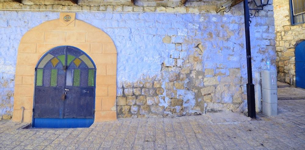 Safad, città blu di Israele
