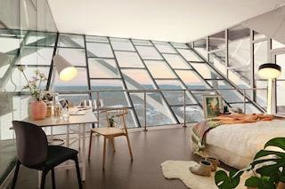 Gratis una notte nella stanza extra-lusso sospesa nel cielo