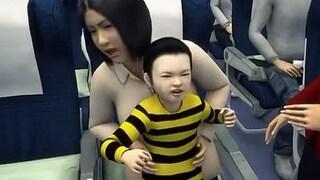 Il bambino fa i capricci e l'intera famiglia viene espulsa dal volo