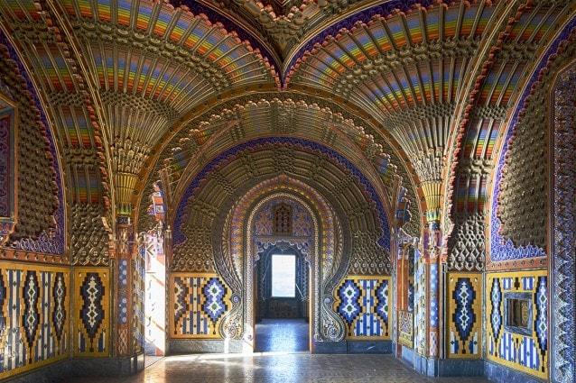 Castello di Sammezzano sala dei Pavoni (Foto @Fanpage.it/Ilaria Vangi)