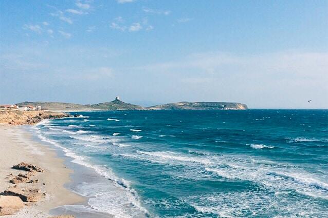 Spiaggia di San Giovanni di Sinis (Foto di Francesco Pruneddu).