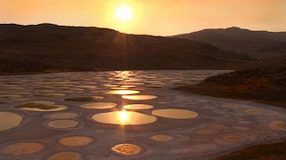 Spotted lake: un lago a pois in Canada