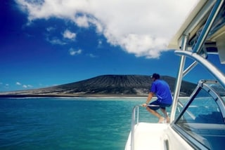 Le prime foto della neo-isola di Tonga, emersa dalle acque del Pacifico
