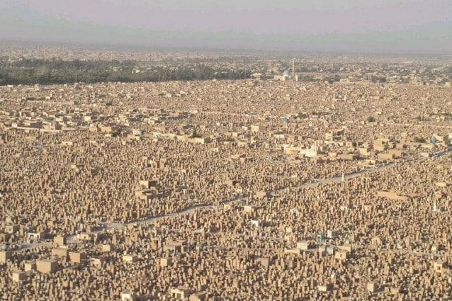Wadi al salam, il cimitero più grande del mondo