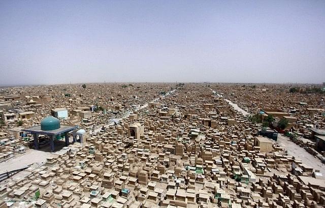 Il cimitero più grande del mondo