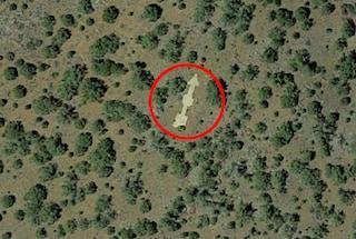 """Quelle frecce giganti visibili da satellite indicano la """"giusta via"""""""