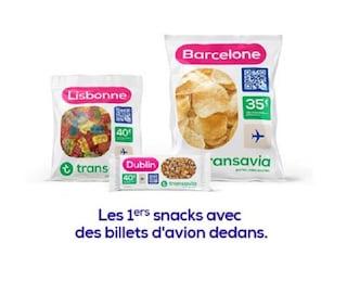 Transavia, mangiare un pacco di patatine e vincere un volo in offerta