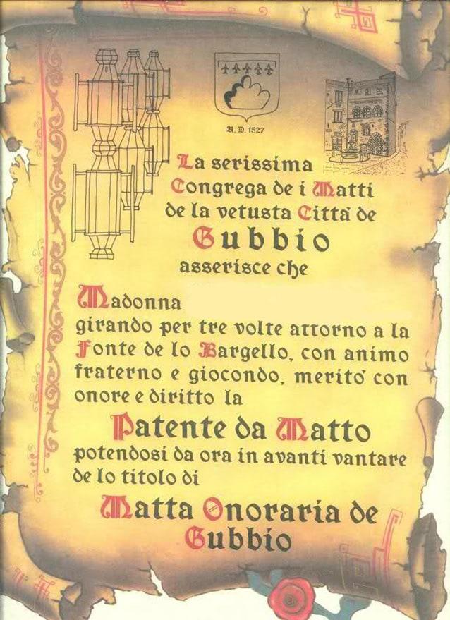 Patente da matto (per donne).